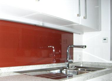 Glasrückwände in Küchen