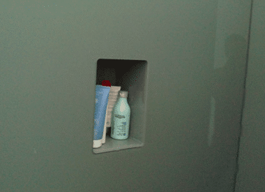 Glasrückwände in Duschen